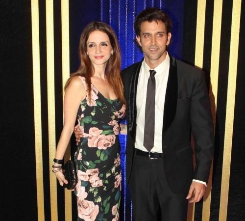 Sussanne Khan and Hrithik Roshan