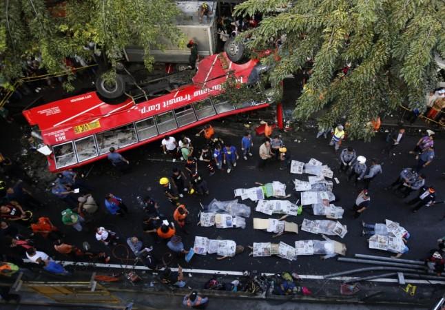 Philippines bus crash