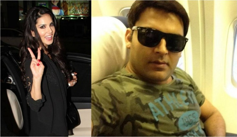 Kapil Sharma and Sunny Leone