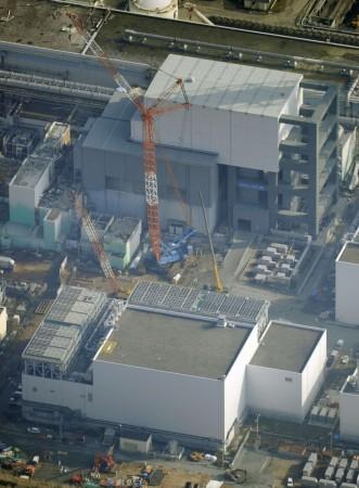 Tokyo Electric Power Co's (TEPCO) Fukushima Daiichi nuclear power plant in Fukushima prefecture