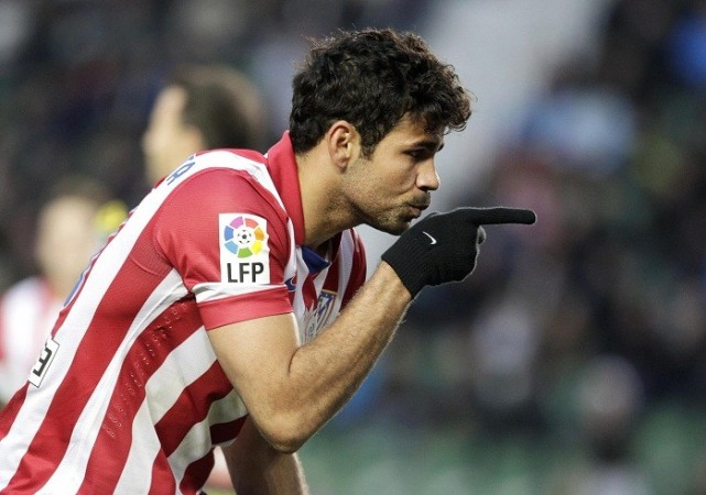 Atletico Madrid striker Diego Costa