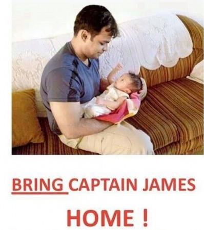 Online Campaign to Bring Captain James Home