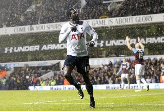 Emmanuel Adebayor Tottenham