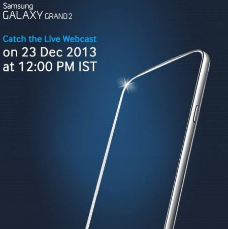 Samsung Galaxy Grand 2 India Launch