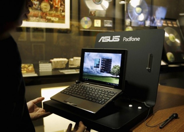 Asus' Padfone on Display During Mobile World Congress Event in Barcelona