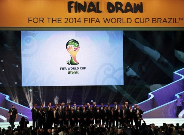 Brazil World Cup draw