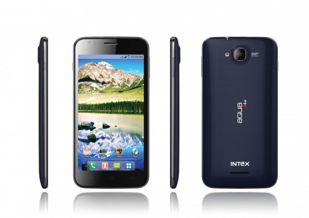 Intex Aqua i4+ Dual-Core Android Jelly Bean Smartphone Launched in India