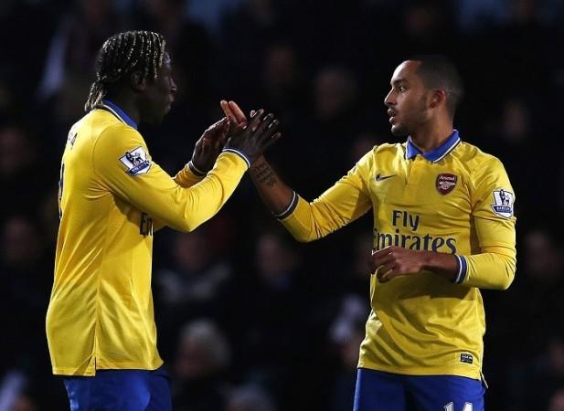 Walcott Sagna Arsenal