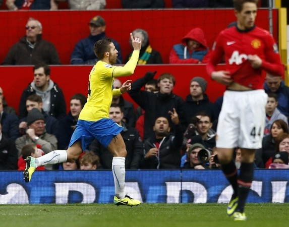 Yohan Cabaye Newcastle Januazj Manchester United