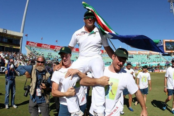 Jacques Kallis South Africa Graeme Smith Morne Morkel