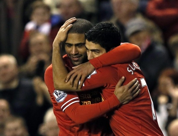 Suarez Johnson Liverpool