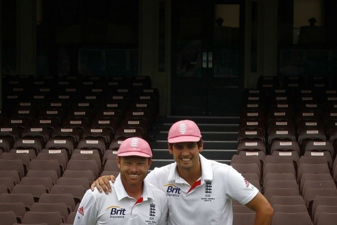 Cook Bell England pink caps