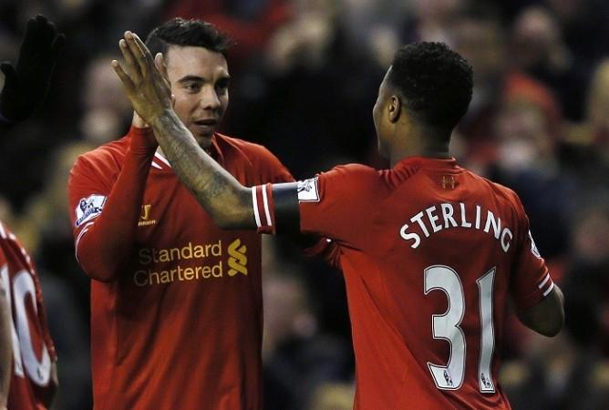 Liverpool Iago Aspas Raheem Sterling