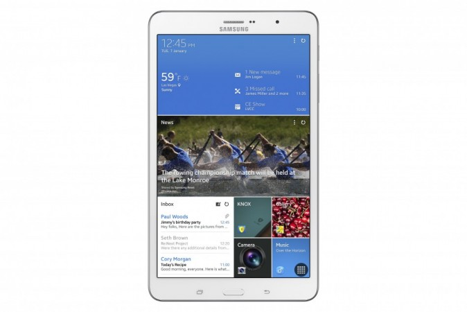 CES 2014: Samsung Launches Galaxy TabPRO and NotePRO Tablet Range with KitKat OS