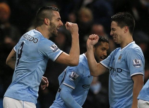 Negredo Nasri Manchester City