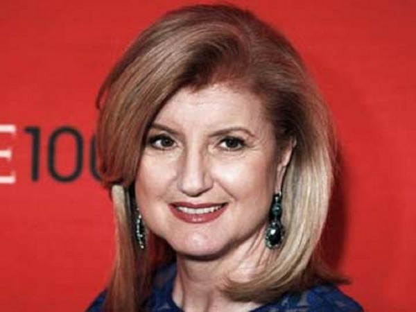 Arianna Huffington, president and editor-in-chief of AOL's Huffington Post Media Group