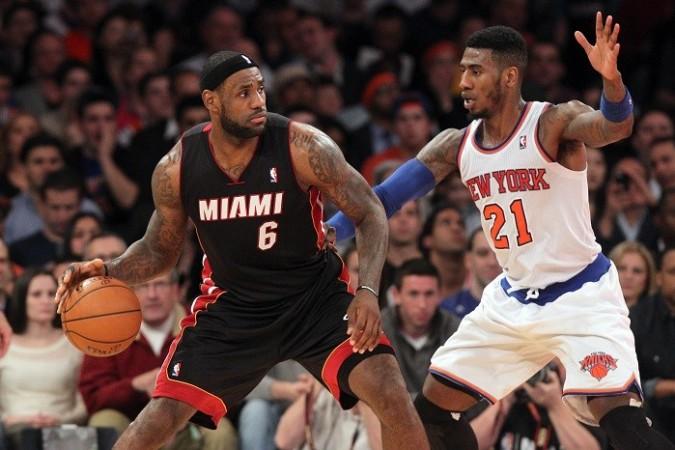 LeBron James New York Knicks Miami Heat