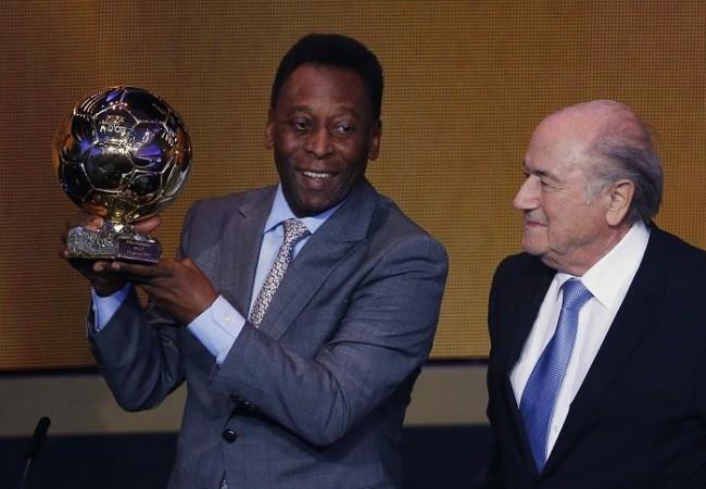 Pele Sepp Blatter