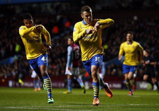 Wilshere Gnabry Arsenal