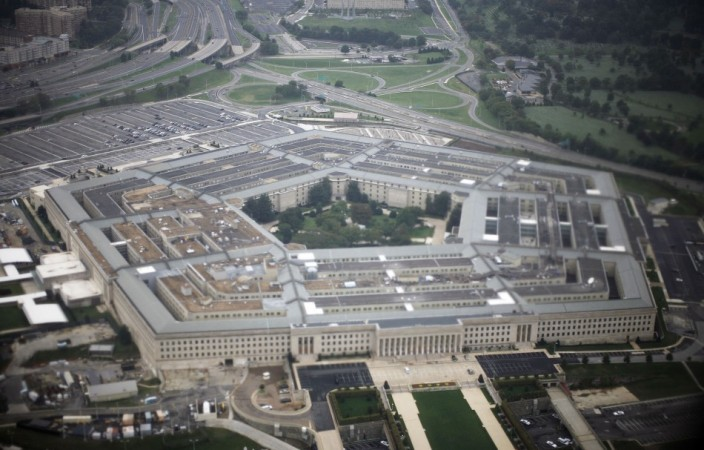 The United States military headquarters, the Pentagon, is seen in this aerial view on Sept. 28, 2008.