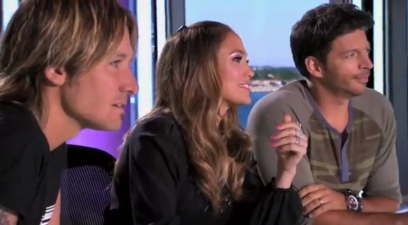 Keith Urban, Jennifer Lopez, Harry Connick Jr