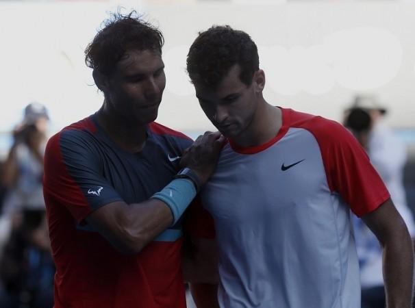 Rafael Nadal Grigor Dimitrov Australian Open
