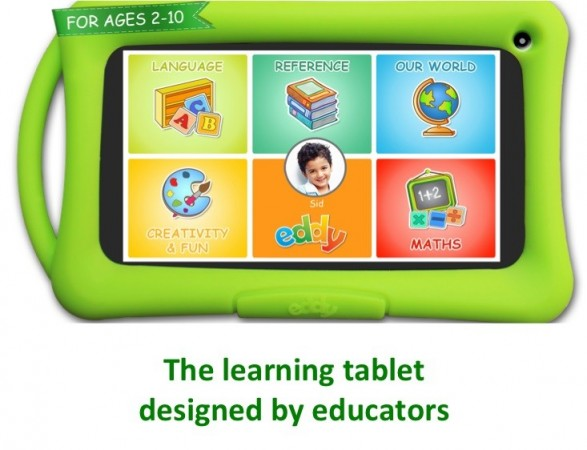 Eddy Android Tablet for Kids Launched in India; Price and Availability Details