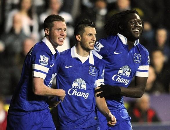 Everton Mirallas McCarthy Lukaku