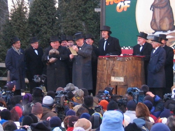 Groundhog Day 2005 featuring Phil (Wiki Commons)