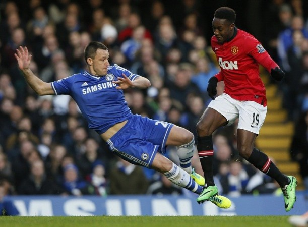 John Terry Chelsea Danny Welbeck Manchester United