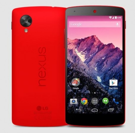 Bright Red Google Nexus 5 Variant Announced; Available In India as Well
