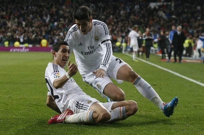 Angel Di Maria Alvaro Morata Real Madrid