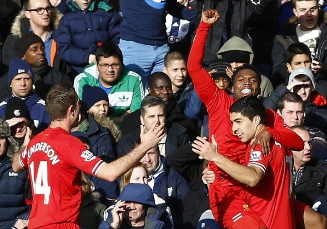 Liverpool Suarez Sturridge Henderson