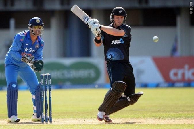 Corey Anderson New Zealand MS Dhoni India