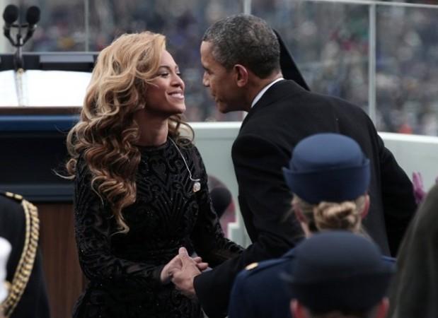 Beyonce and Obama