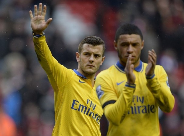 Wilshere, Oxlade-Chamberlain Arsenal