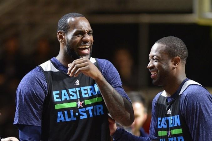 LeBron James Dwyane Wade Miami Heat