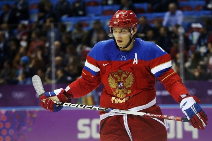 Alex Ovechkin Russia