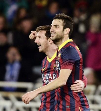 Barcelona Messi Fabregas
