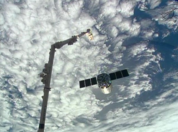 Garbage-Filled Supply Ship Departs Space Station