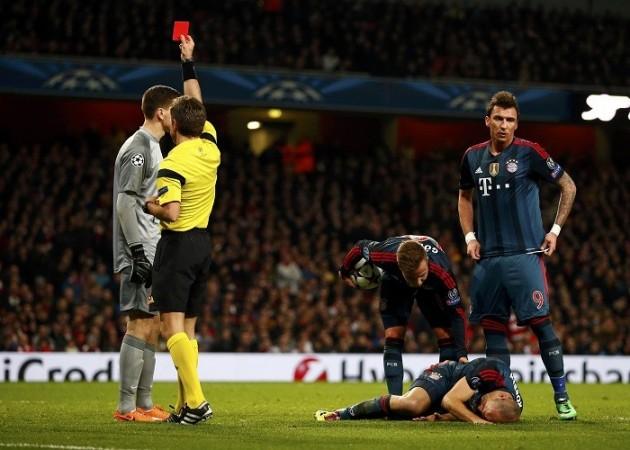 Szczesny Arsenal Bayern Munich Rizzoli