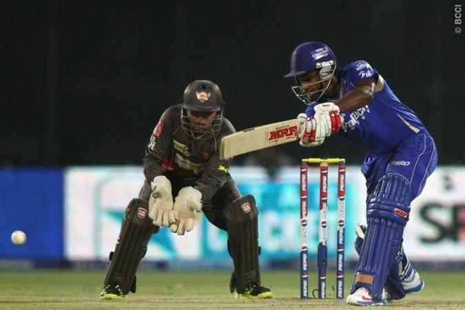 Sanju Samson Rajasthan Royals Parthiv Patel Sunrisers Hyderabad