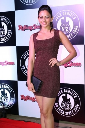 Rakul Preet Singh at Ninth Edition of Jack Daniel's Annual Rock Awards