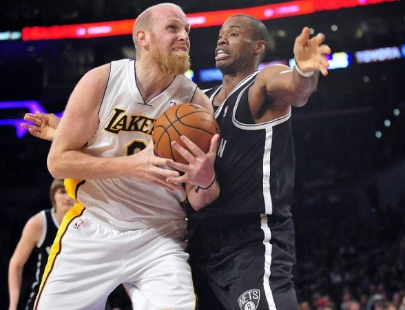Jason Collins Brooklyn Nets Kaman Lakers