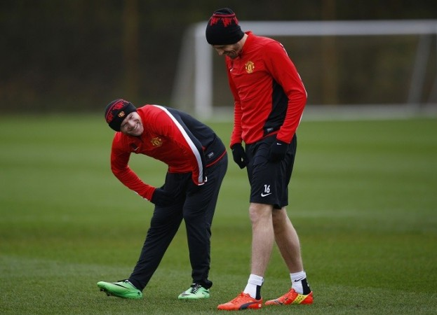 Wayne Rooney and Michael Carrick