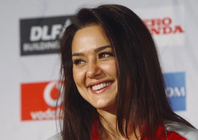 Preity Zinta.