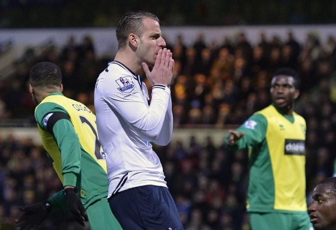 Tottenham Roberto Soldado Norwich