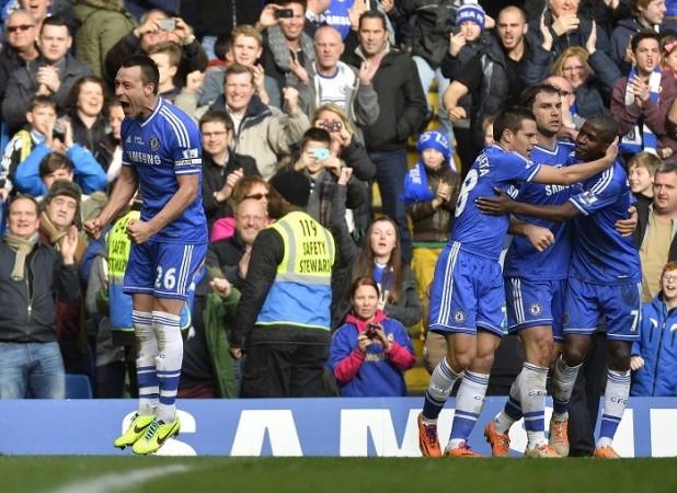 John Terry Ivanovic Ramires Lampard Chelsea