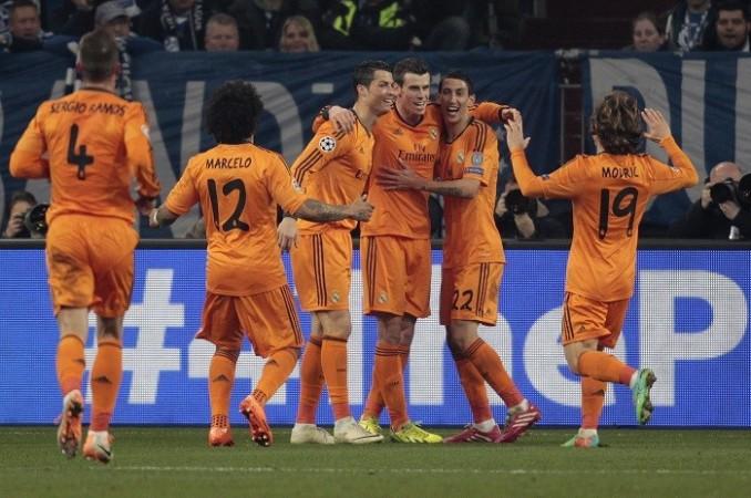 Real Madrid Ronaldo Bale Di Maria