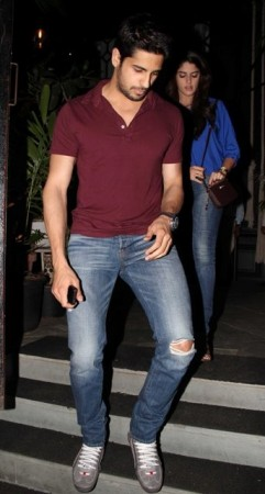 Sidharth Malhotra spotted with Izabelle Leite on Wednesday